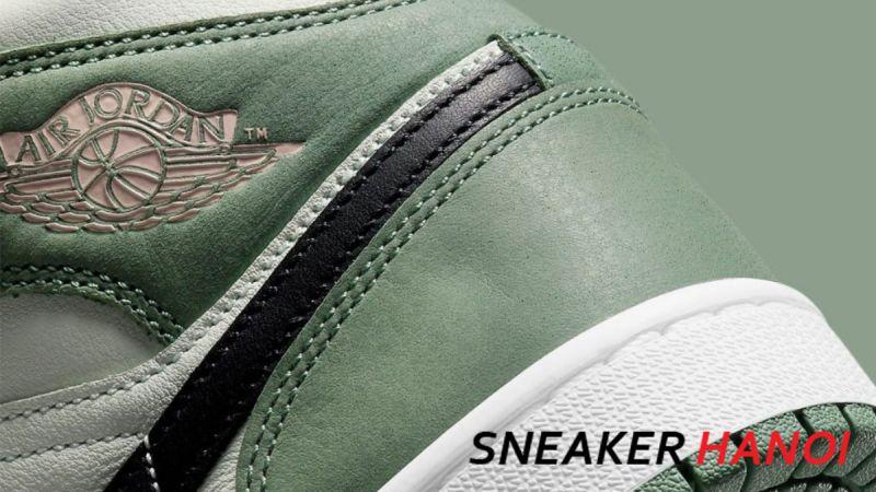 Giày Nike Air Jordan 1 Mid Se Dutch Green