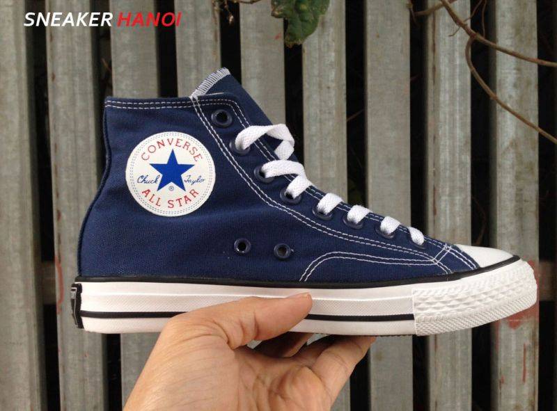 converse xanh navy