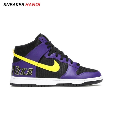 Giày Nike Dunk High Premium EMB Lakers