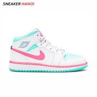 Giày Nike Air Jordan 1 Mid GS Digital Pink
