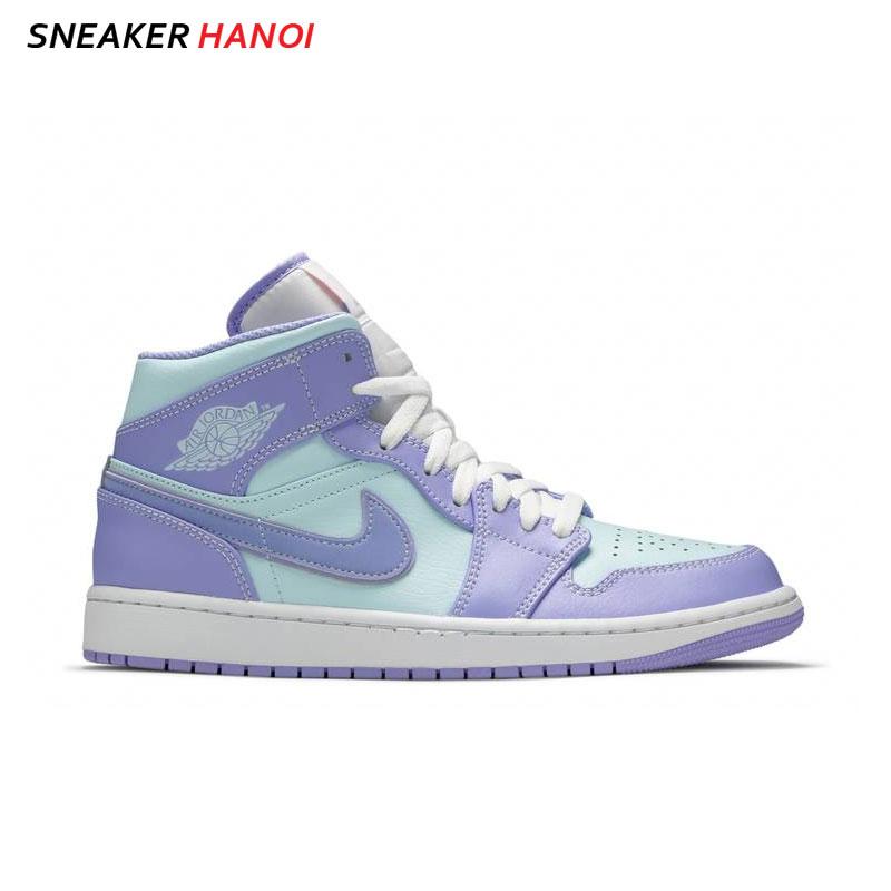 Giày Nike Air Jordan 1 Mid Purple Pulse