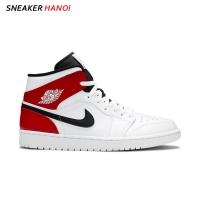 Giày Nike Air Jordan 1 Mid White Chicago