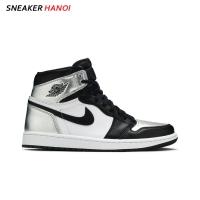 Nike Air Jordan 1 Retro High OG Silver Toe