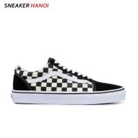 Giày Vans old Skool Checkerboard Black / White