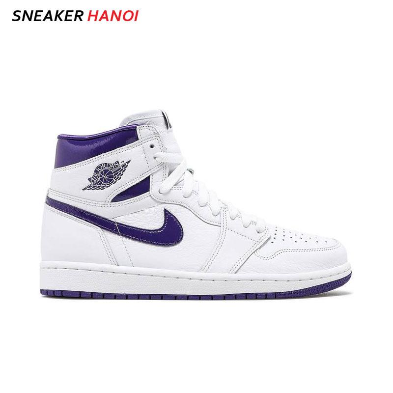 Nike Wmns Air Jordan 1 High OG Court Purple