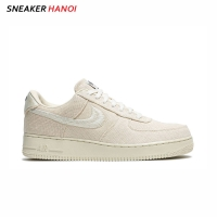 Giày Nike Stussy X Air Force 1 Low Fossil