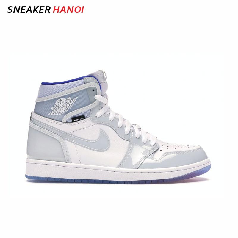 Nike Jordan 1 Retro High Zoom White Racer Blue