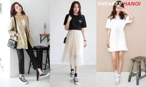 9+ Cách phối đồ với giày converse cổ cao nữ đơn giản nhất